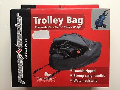 Power master Golf Electric Trolley Carry Bag Black Clearance TR36A1