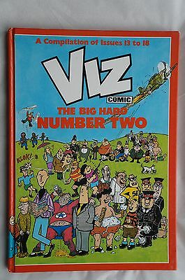 Viz Comic The Big Hard Number 2 Book - Issues 13 to 18 - 1986