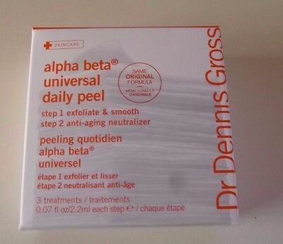Dr Dennis Gross Alpha Beta Universal Daily Peel (3 X Treatments) New & Boxed