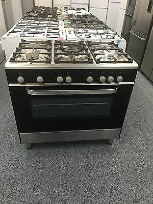 KENWOOD CK305G 90cm Gas Range Cooker in Black