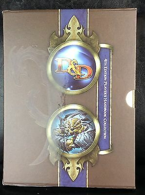 Dungeons And Dragons Players Handbook Collection 4Th Edition Hardback D&d Ad&d