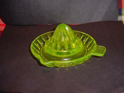 Vaseline Glass Juicer-Reamer