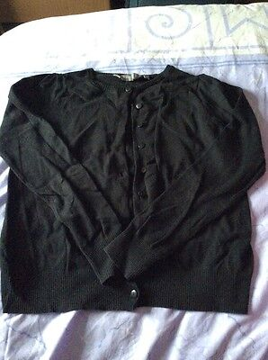 Black Maternity Cardigan. New Look. Size 10. Buttons. Long Sleeve.