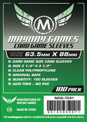 100 Pcs Mayday Card Game Sleeve for 63.5*88mm MTG Magic The Gathering 7041