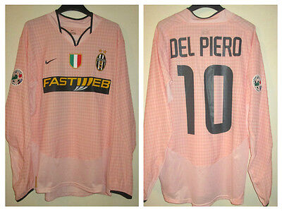 Ultra Rare Del Piero Juventus Fc Maglia Match Worn Issued Shirt 2014-15