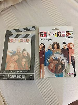 Spice Girls Photo Frame And Key Ring New In Packaging