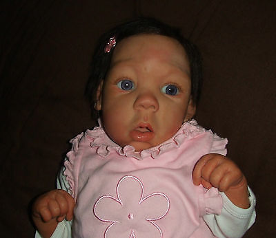 beautiful Lorna Miller Sands Ooak baby of Polymer clay
