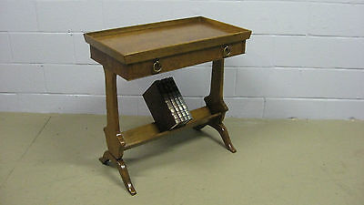 BAKER Milling Road Accent Stand with Drawer and Book Shelf Lower Rest