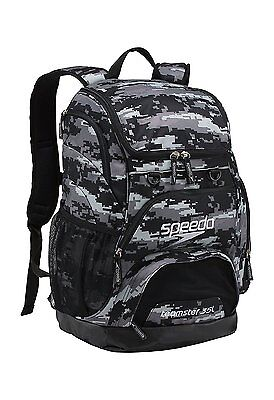 Speedo Teamster Backpack, Digi Camo Grey, Large/35 L