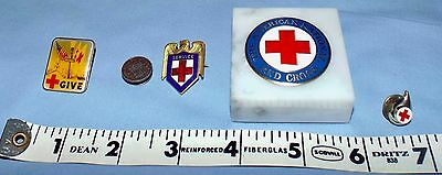 Lot American Red Cross vintage blood donor service award collectible + modern