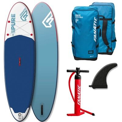 Fanatic Pure Air inflatable SUP 10.4 Stand up Paddle Board 2017