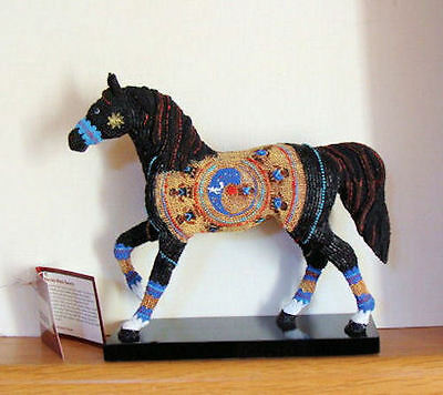 Trail of the Painted Ponies 1E Navajo Black Beauty New  with Tag, Box  12254