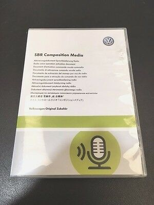 Originale VW software Upgrade comando vocale (COMPOSITION MEDIA) comandi vocali