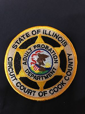 Cook County Chicago Adult Probation Patch