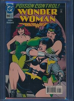 Wonder Woman # 94 Bolland  CGC NM 9.6 White pages