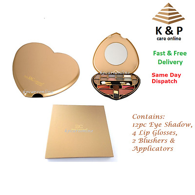 Body Collection Classic Heart Make Up Palette Make Up Cosmetics Kit Gift Set