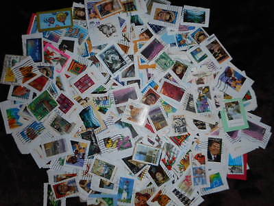 25 POUND BOX - $4 lb, UNPICKED US Stamps Modern Trimmed - approx 62,000 STAMPS!!