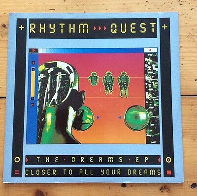 Rhythm Quest The Dreams Ep Closer To All Your Dreams (Piano Mix) Rave Classic Ex
