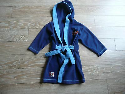 Boys Blue Dressing Gown with Tigger Motive - Disney - Age up to 2 years