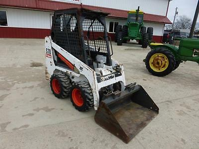 2008 Bobcat S70 Diesel Skid Steer Loader For Sale 1533 Hours Showing