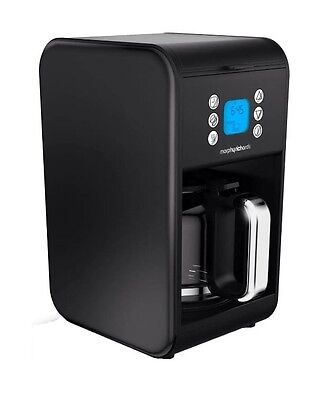 Morphy Richards Accents 162008 900W Pour Over Filter Coffee Machine in Black