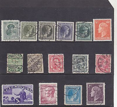 Stamps of Luxembourg