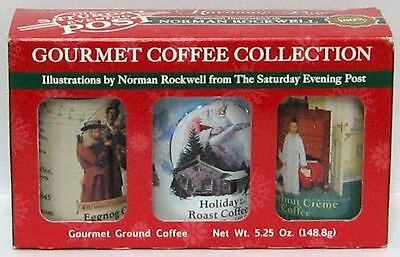 Gourmet Coffee Collection Illustrations By Norman Rockwell