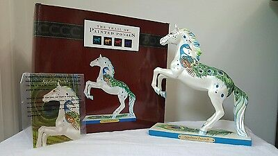 Trail of Painted Ponies Appaloosa Peacock 1E RARE