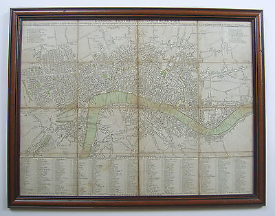 London: antique folded map by Cary & Wallis, 1785