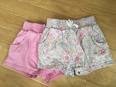 Next Girls Shorts - Pack of Two Age 1 1/2 - 2 years