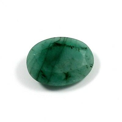 5.90 cts 100% Natural Emerald Untreated Oval Loose Cabochon Gemstone For Jewelry
