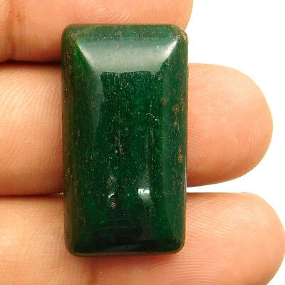 33.35 cts Natural Untreated Aventurine Gemstone Octagon Loose Quality Cabochon