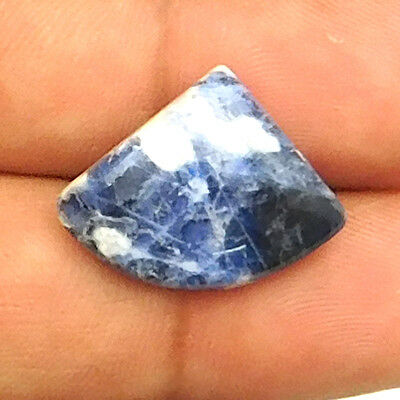 11.55 cts Natural Untreated Sodalite Gemstone Fancy Loose Cabochon For Jewelry
