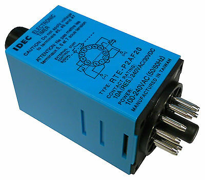 Idec Rte-P2Af20 Electromechanical Multifunction Timer