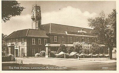 Postcard -The Fire Station, Lancaster Place, Leicester, Leicestershire