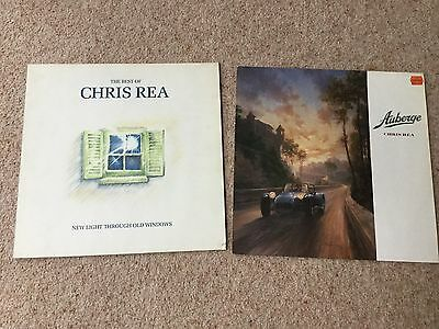 "CHRIS REA  2LP's ""THE BEST OF"" and ""AUBERGE"" both Alsdorf both VG"