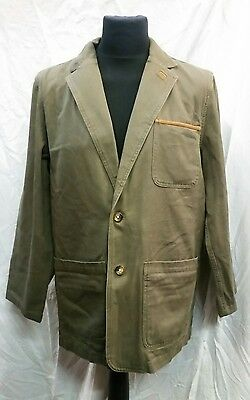 """Mens Orvis Cotton Fishing Jacket Size 40"""" Chest"""