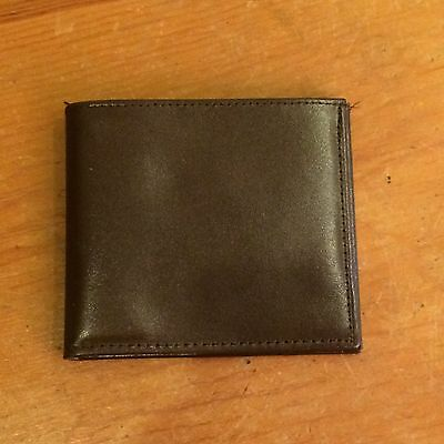 Amity Vintage Brown Cowhide Leather New Bi-Fold Mens Wallet