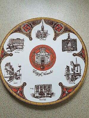 caverswall city of norwich plate