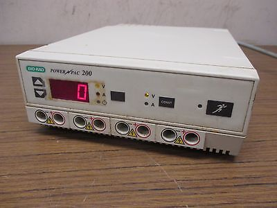 Bio-Rad Powerpac 200 High Voltage Power Supply 200V/2A