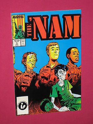 The 'Nam #9 Marvel Comic Book - 1987 Key..Death of Mike Albergo