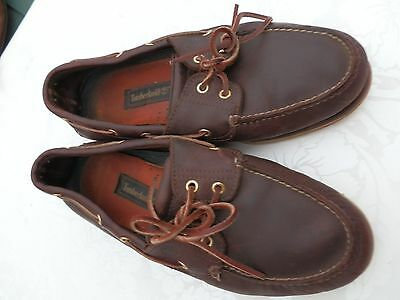 Men Timberland Boat Shoe ,vg Con Size Approx 8-9