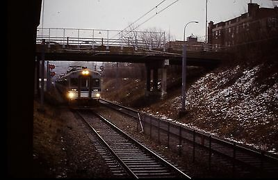 Slide Photo Montreal Amt Commuter Train In 2006 On The Deux-Montagnes Line