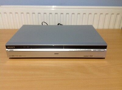 Sony RDR-HXD870 - DVD Recorder With 160GB Hard Drive - With Freeview - Silver.