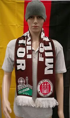 FC St. Pauli Football Scarf (Saint Pauli Hamburg Germany)