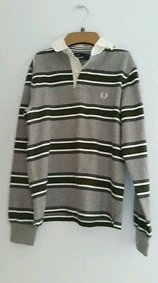 Fred perry kids polo/ rugby style shirt size small youth