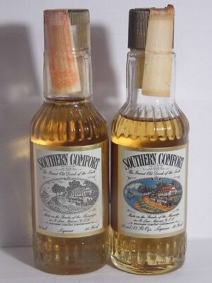 2 Miniature whisky SOUTHERN COMFORT 50ml