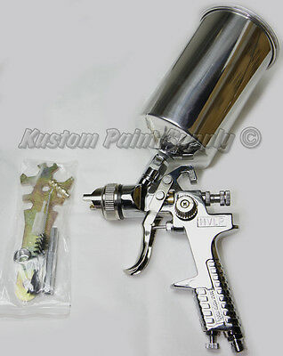 3.0 Tip HVLP Spray Gun for Gel Coat, Primer, Metal Flake