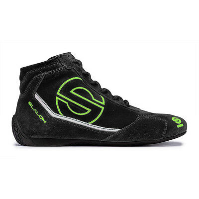 Racing Shoes Sparco SLALOM RB-3 black/fluo (FIA Approved) - size 47