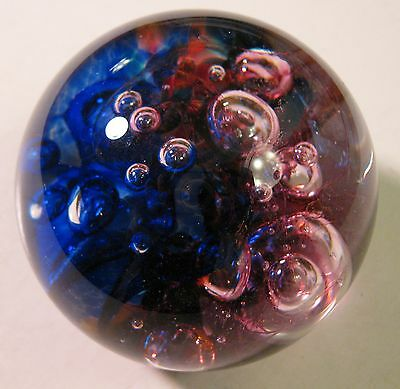 "Vintage ""robert Held"" Art Glass Paper Weight"